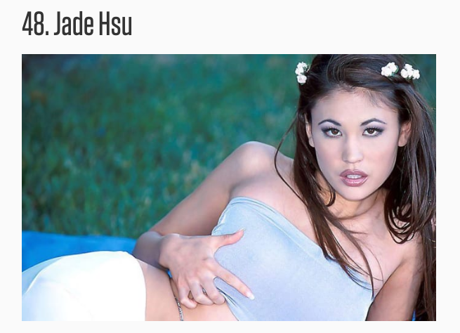 Hottest asian porn stars of all time