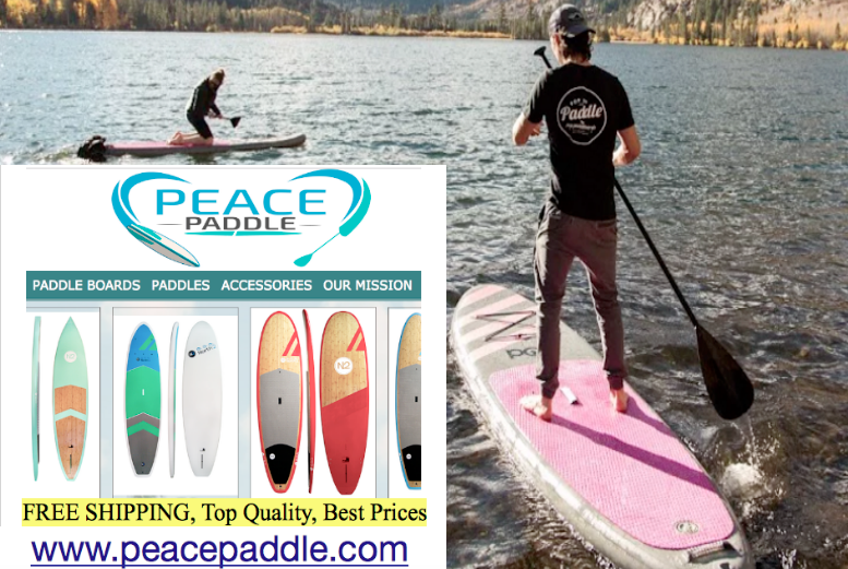 Peace Paddle #PaddleBoards