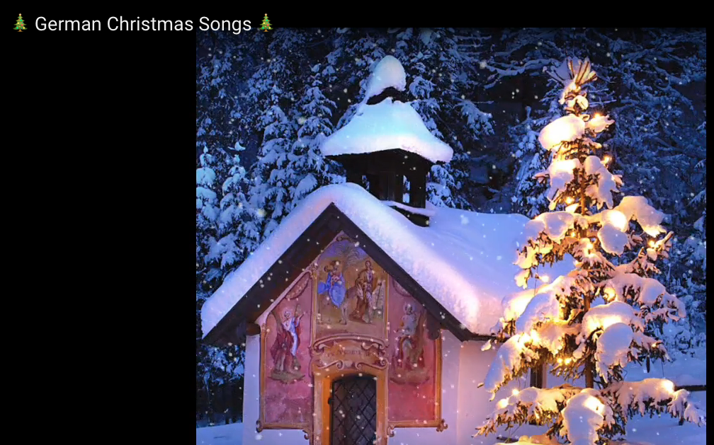 German #Christmas Songs