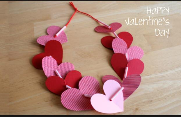 Valetine's Day Crafts For Kids