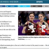 Alina Zagitova, Evgenia Medvedeva Story