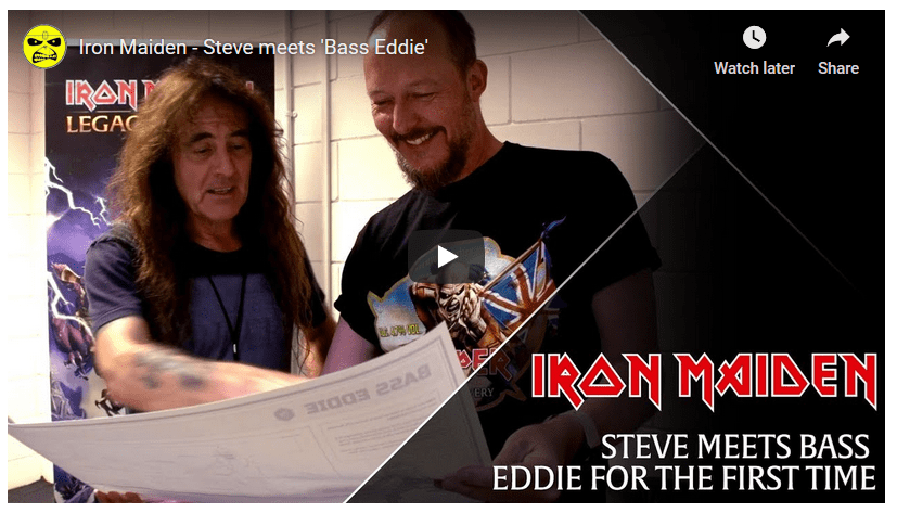 Eddie Bass: Legacy of the Beast Video Game Made In Likeness of Steve Harris