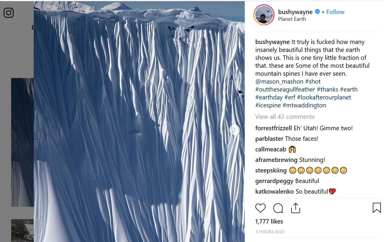 #Earthday #winner #bestphoto Rory Wayne Bushfield