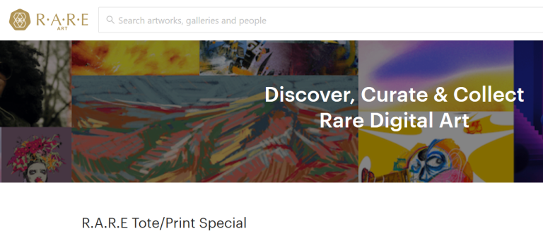 Collect and curate rare art