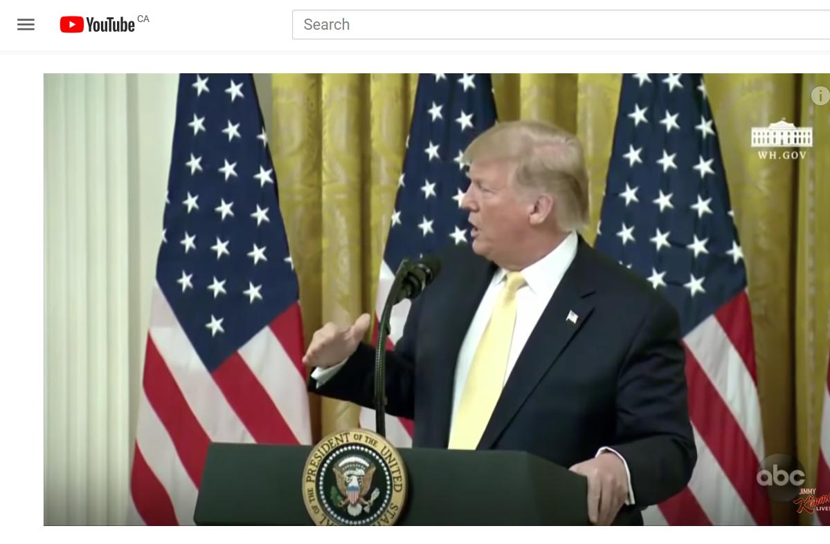 Trump Vs. Twitter #KIMMEL #whitehousesocialmedia